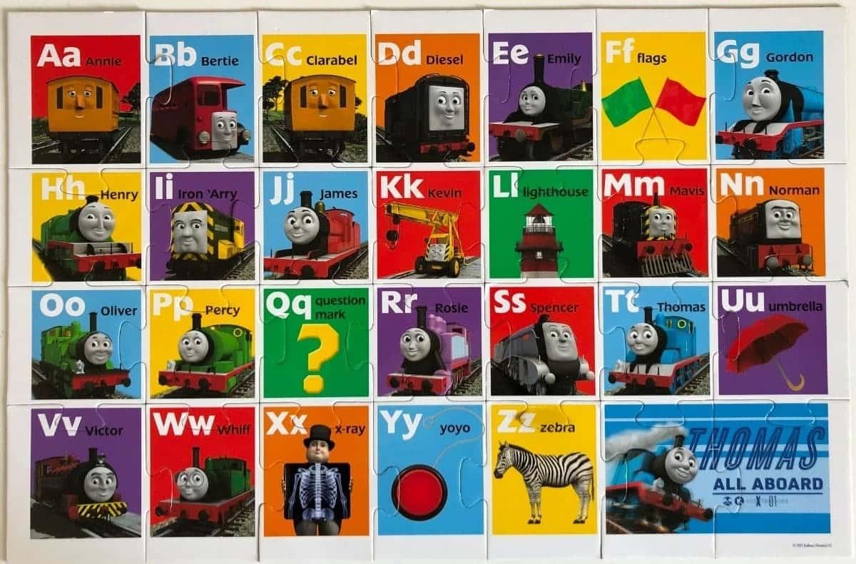 Thomas & Friends ABC Floor Puzzle