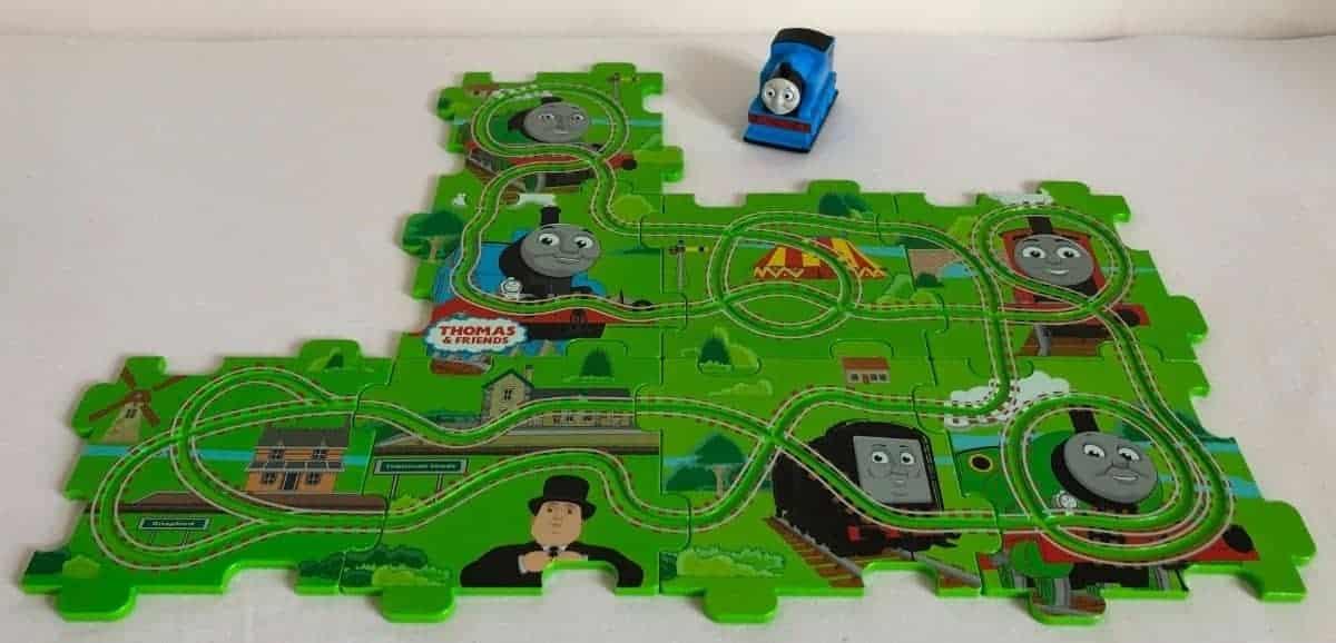 Thomas Puzzle Track Playset