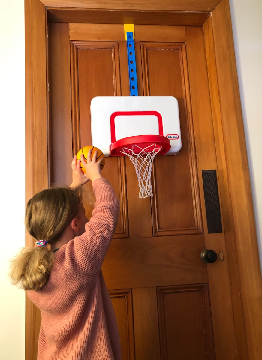 Attach `n` Play Basketball