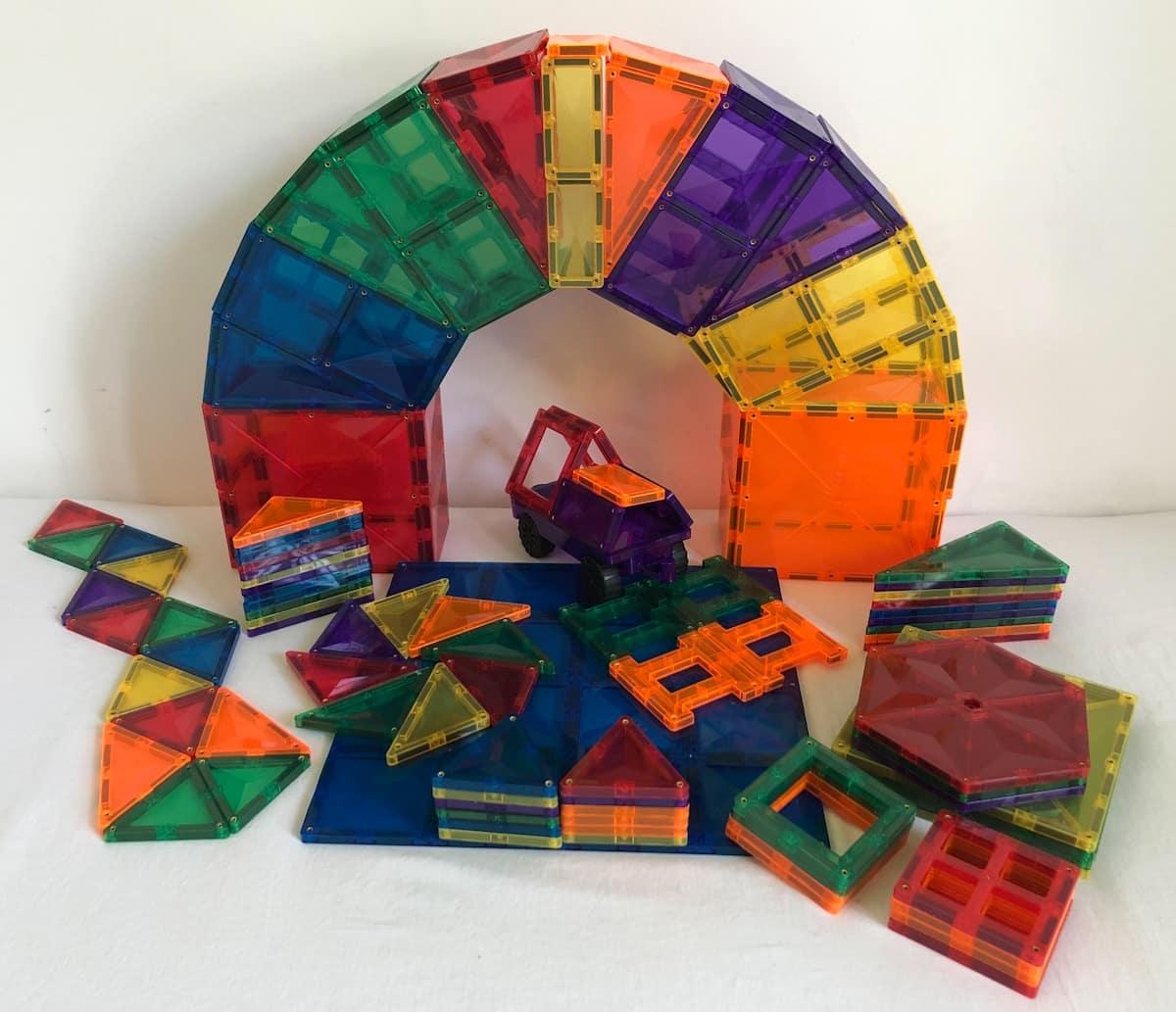 Magnetic Connetix Tiles
