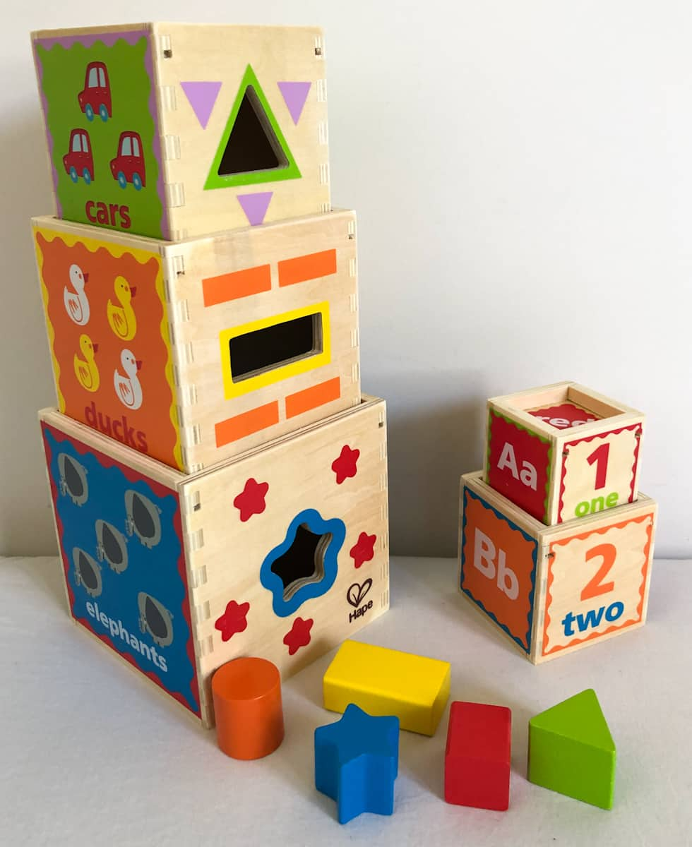 Pyramid of Play Nesting Boxes