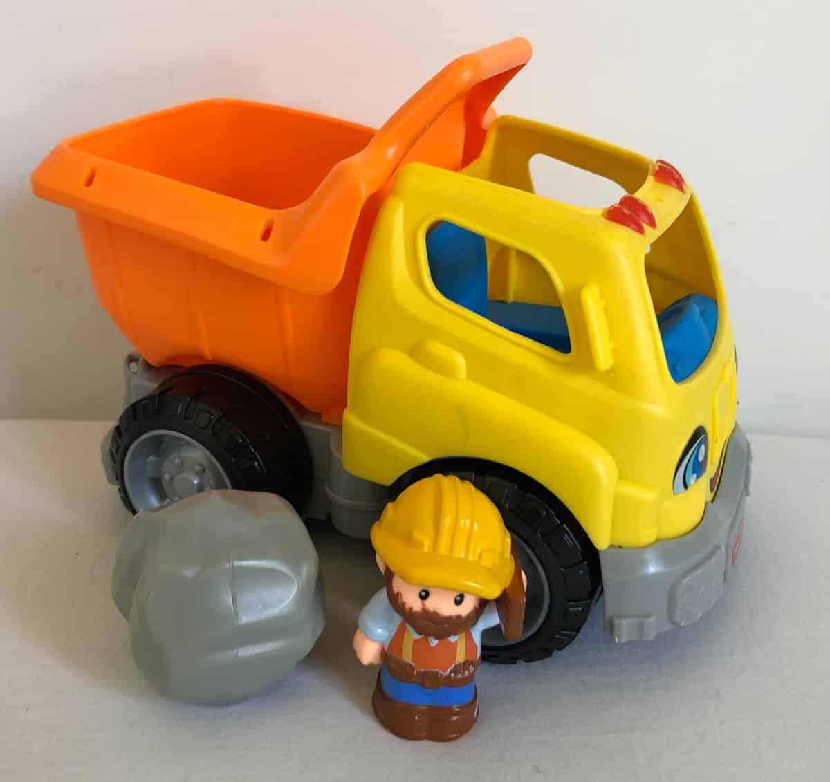 Little People Dump Truck